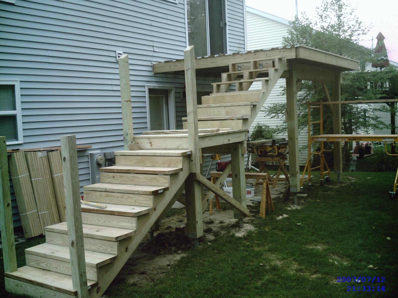 Projects – Bob Beyerl Llc | Outdoor Stairs To Second Floor | Rooftop Deck | Inside | Porch | Wide | Second Level