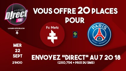 To triumph: your tickets to the FC Metz occasion match
