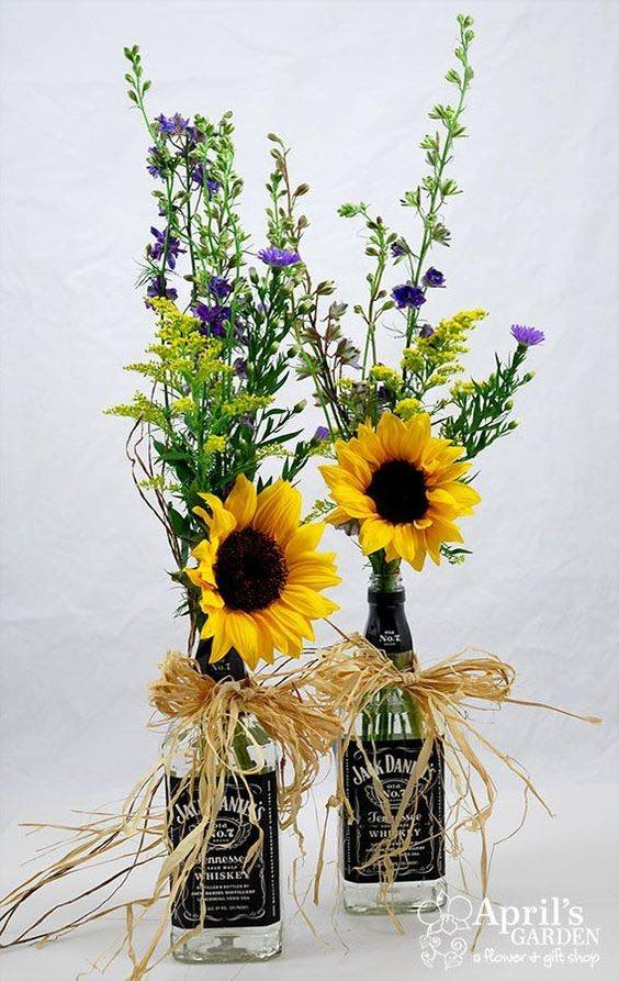 Cheap Wedding Table Arrangements