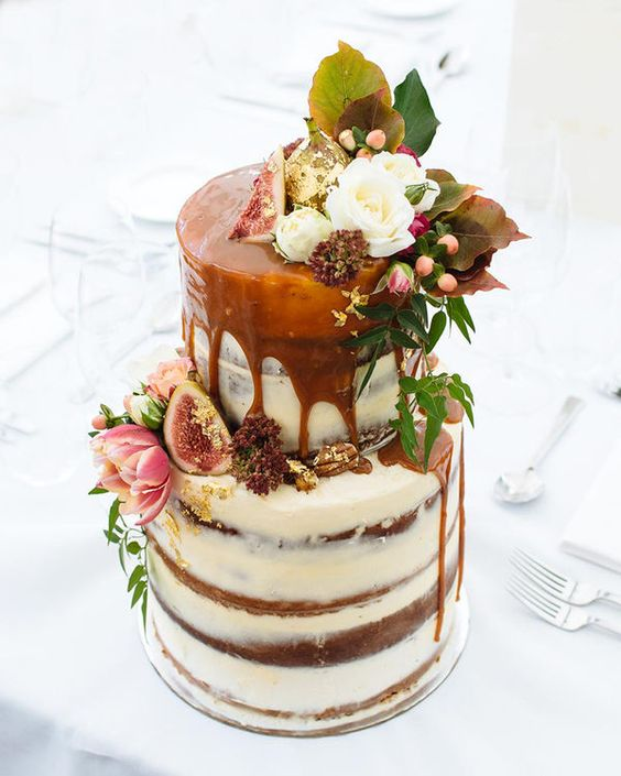 Wedding Cake Flavors  How to Pick the Perfect Cake Flavor Combo Fall wedding cake flavors  Gone are the light flavors of citrus and summer  fruits