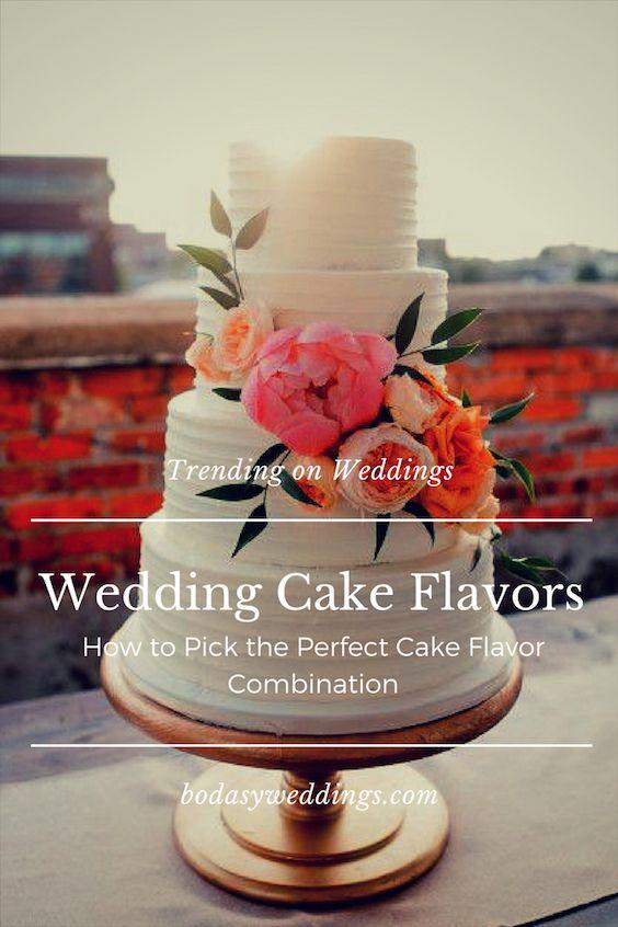 Fall Wedding Cake Flavors