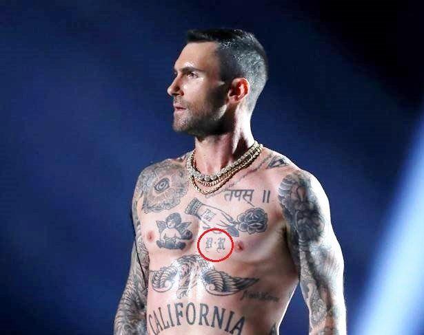 Adam Levine's 26 Tattoos & Their Meanings – Body Art Guru