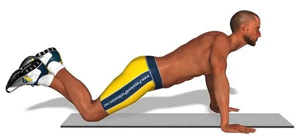 Presser til breasting på dine knæ