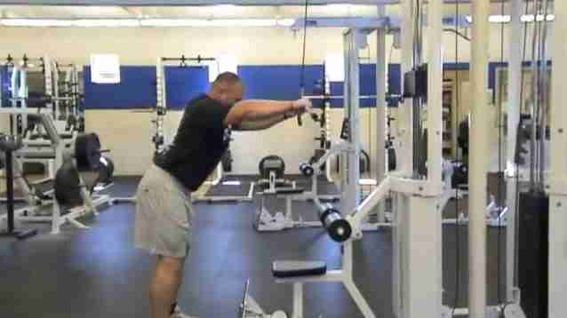 Straight Arm Lat Pull Down Bodybuilding Wizard