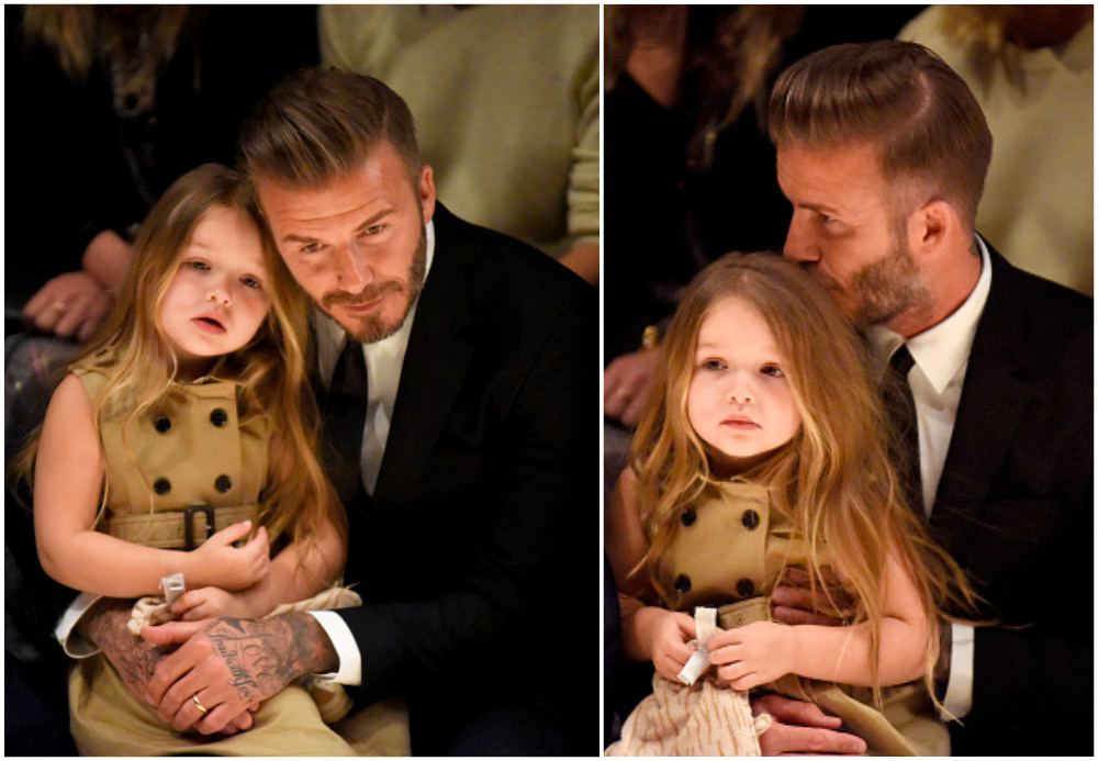 David and Victoria Beckham's four children. Cuteness ...