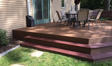 Wood And Paver Patio | Wooden Thing