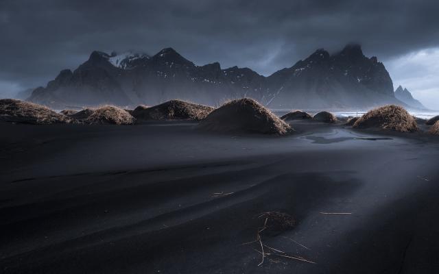 Iceland Black Sand Wallpaper