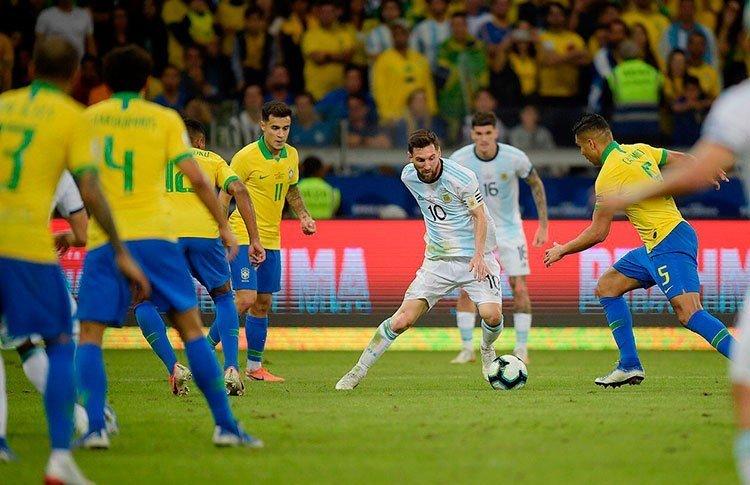 Лионель Месси создавал моменты, но пока так и не забил на Кубке Америки-2019