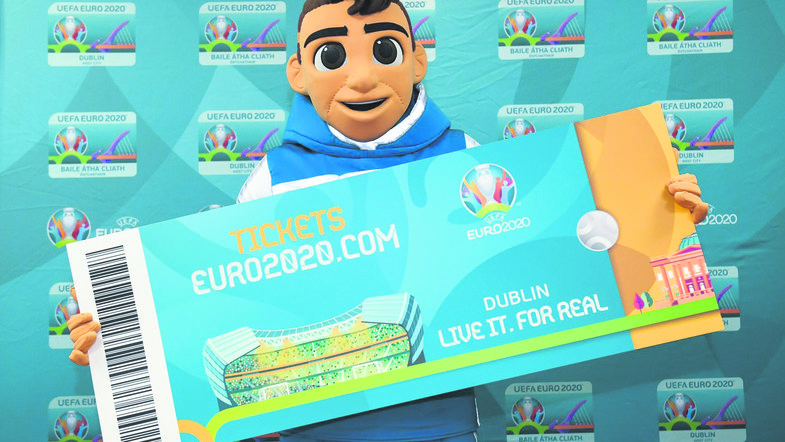 Билеты на матчи чемпионата Европы 2020 года