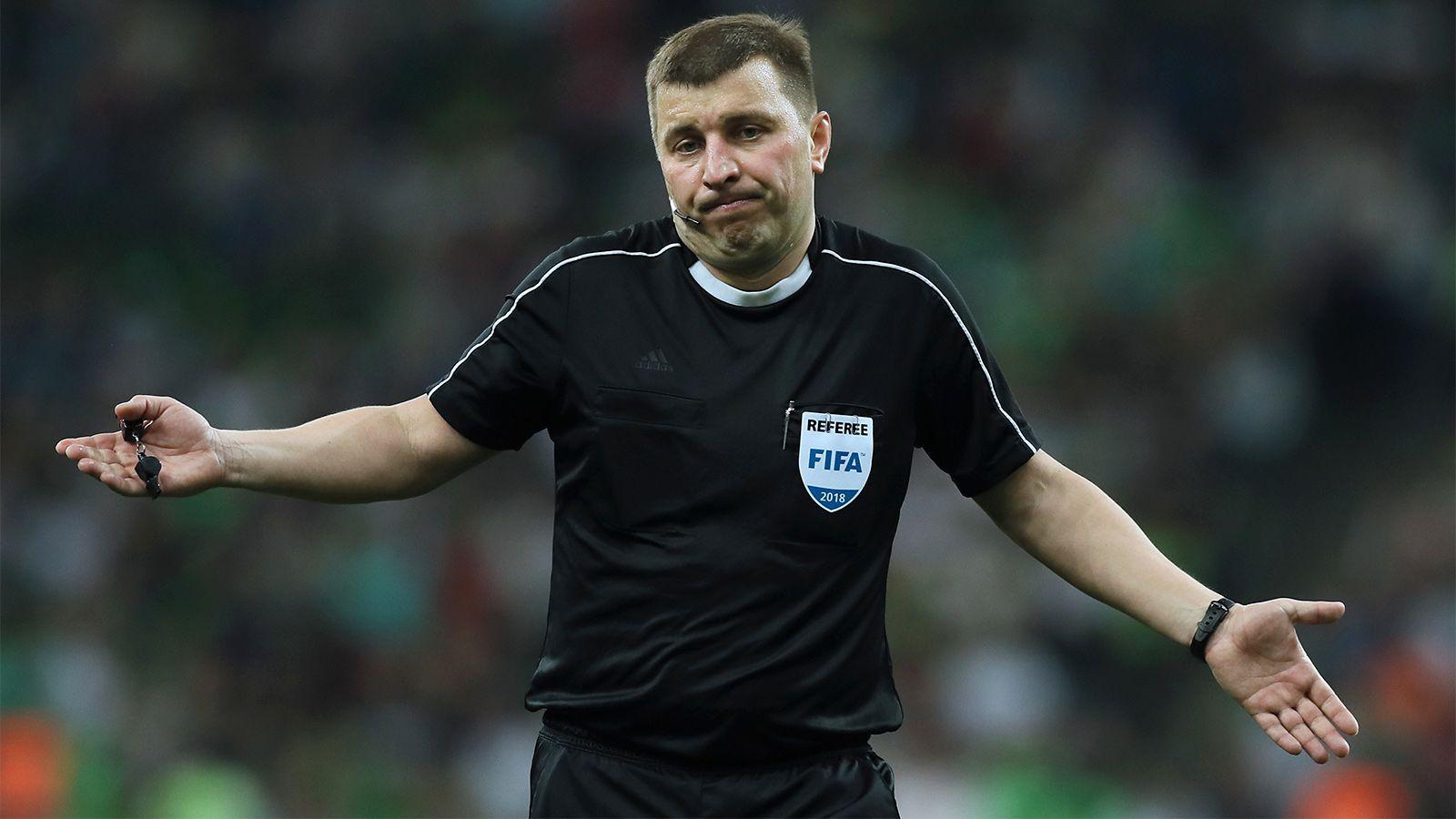 Арбитр Михаил Вилков