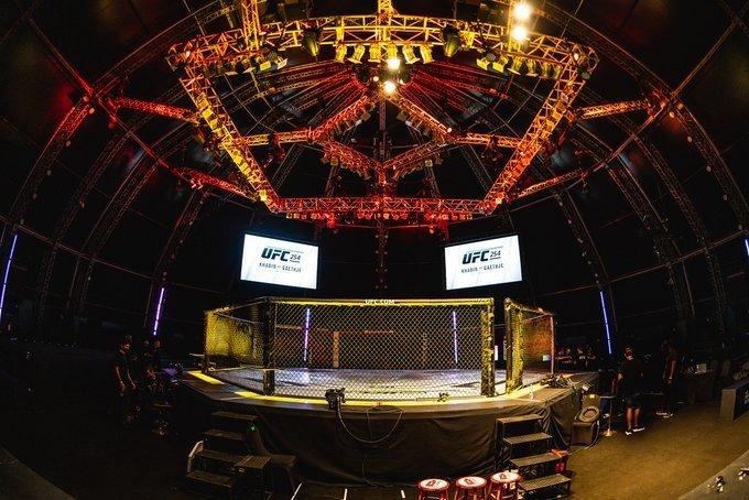 Октагон UFC 254
