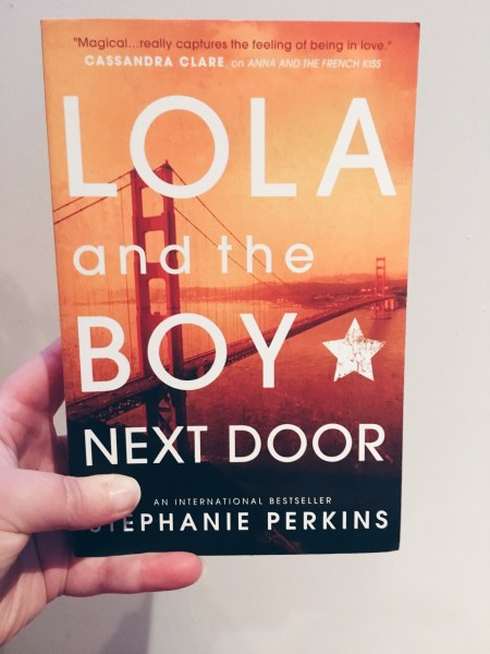 Reading wrap up  April     Books inter alia Lola and the boy next door