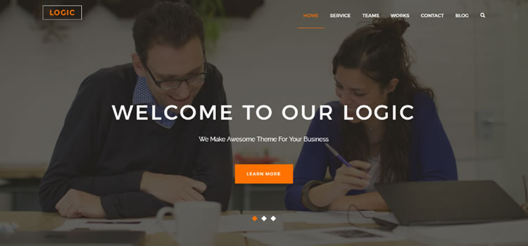 Logic – Free Html5 Multipurpose Business Template