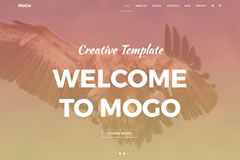 MoGo – Free One Page WordPress Portfolio Theme