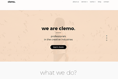 Clemo – Free Multipurpose Portfolio WordPress Theme