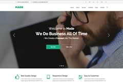 Made Agency – Portfolio Free Bootstrap Template