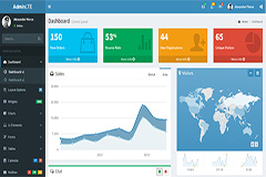 AdminLTE – Free responsive HTML5 Bootstrap Admin template