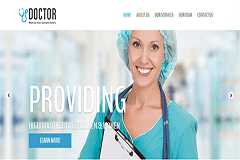Doctor – Responsive HTML Bootstrap Template