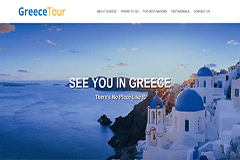 GreeceTour – Travelling Bootstrap HTML5 Template