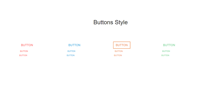 Bootstrap Responsive Button Style