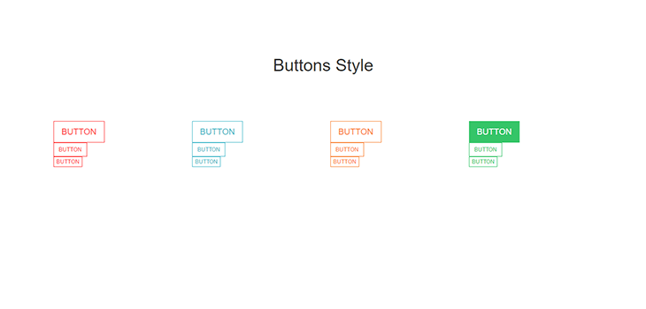Bootstrap Responsive Simple Hover Effect Buttons