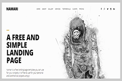 Bootstrap Free Landing Page Template