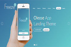 Oleose Eye Catching Mobile App Landing Page