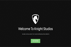 Knight – Free One Page Multipurpose Responsive Bootstrap Template