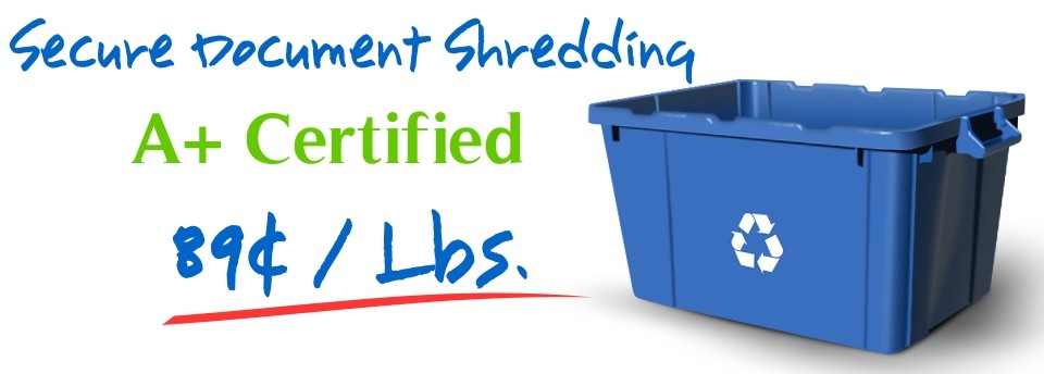 Residential Shredding Boston MA