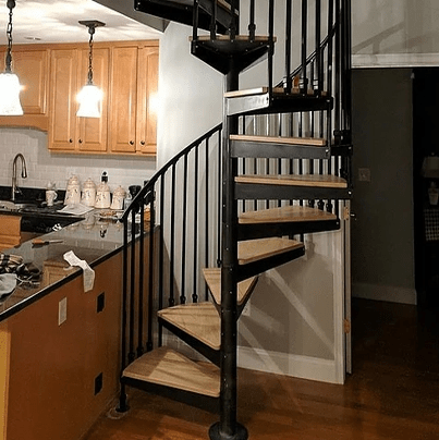 Boston Stair Wood Spiral Stairs In Boston Metal Spiral Stairs | Circular Stairs For Sale | Shop | Glass | Wooden | Modern | Wrought Iron