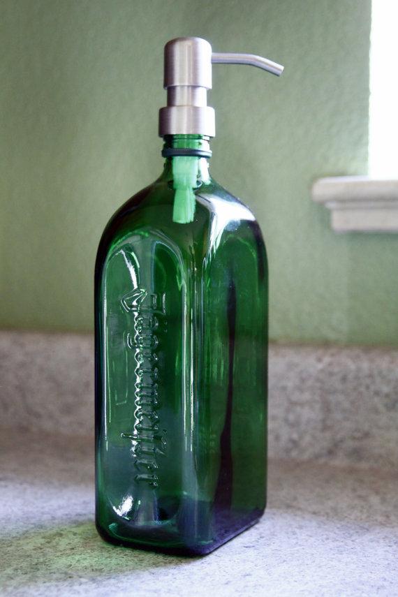 Jagermeister 174 Liquor Bottle Soap Dispenser Custom