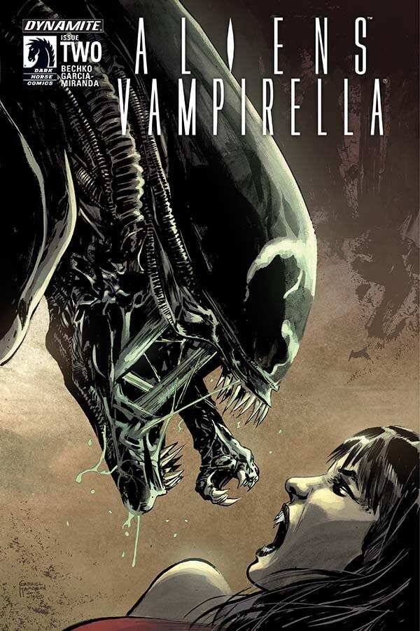 Comic Book Review Aliens Vampirella 2 Bounding Into