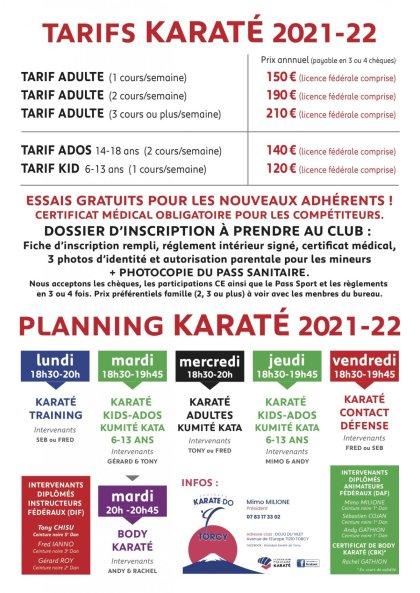 KARATE: Time to renew Karate Torcy
