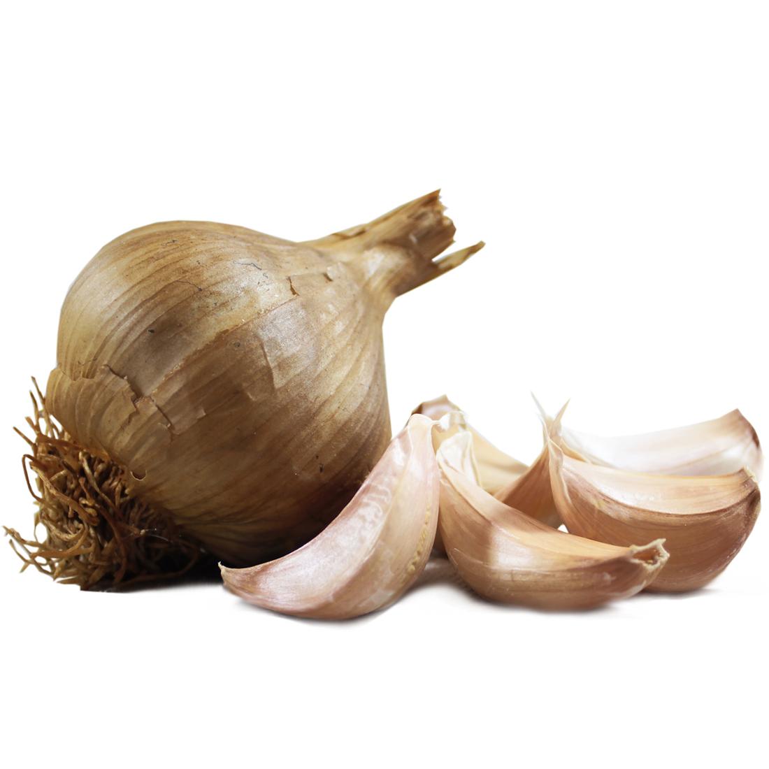 Smoked Garlic Large Bulbs The Garlic Farm Uk Isle Of Wight