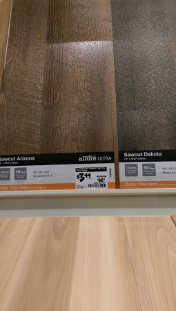 Flooring  Allure vs Lowe s Versions vs Laminate