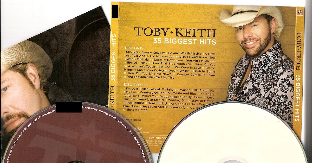 toby biggest 35 keith hits