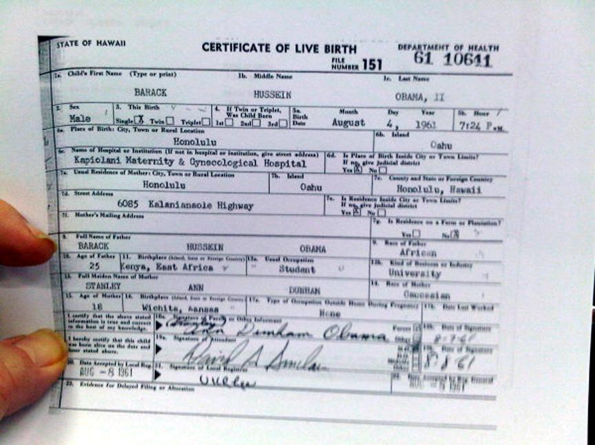 North Carolina Birth Certificate 2011