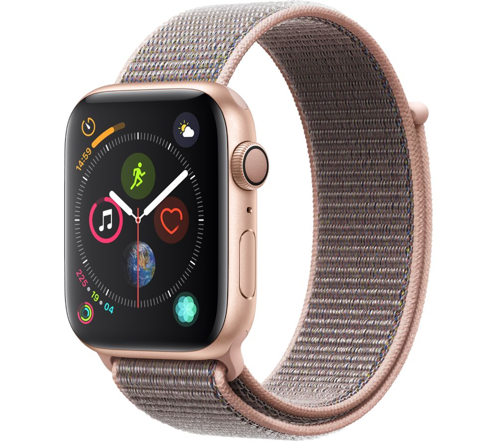 Buy Apple Watch Series 4 Gold Amp Pink Sand Sports Loop