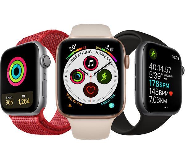 Buy Apple Watch Series 4 Silver Amp Seashell Sports Loop