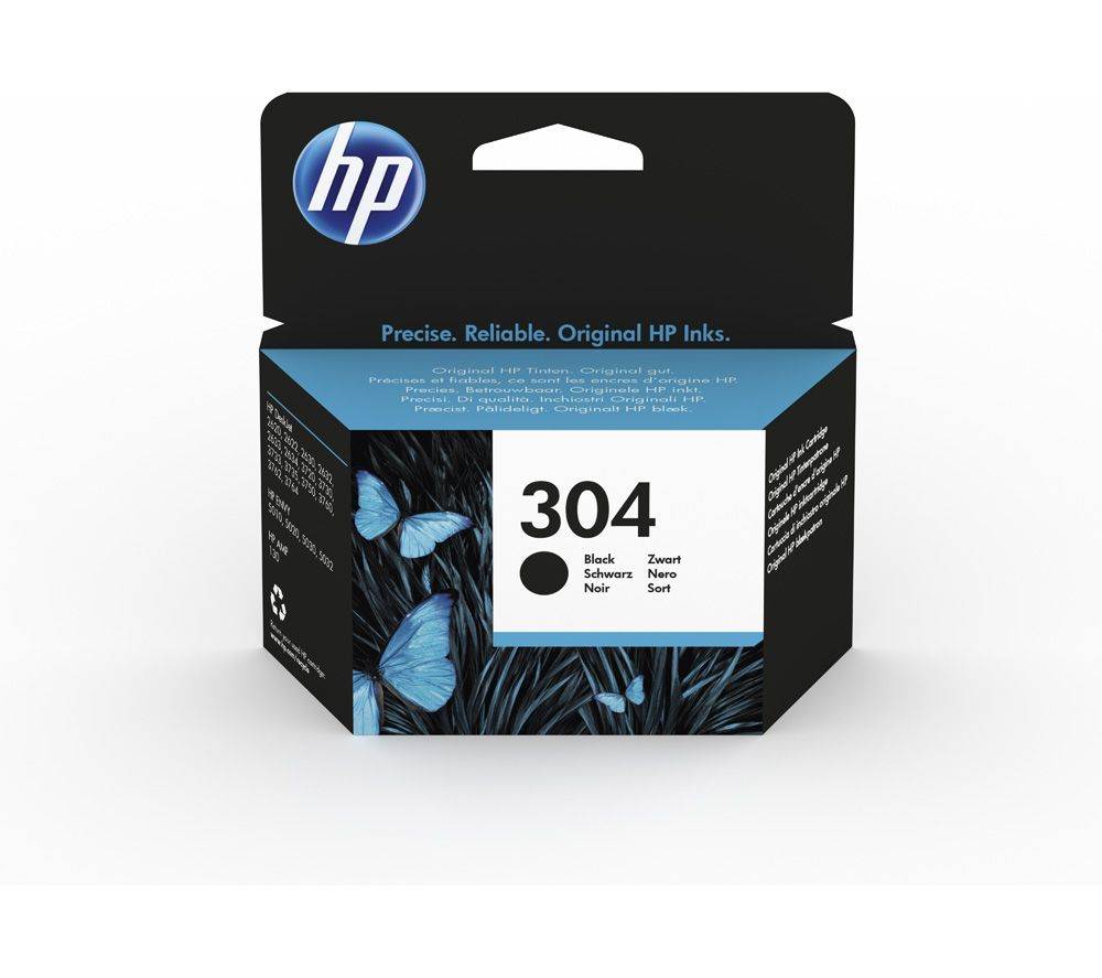 Buy Hp 304 Black Ink Cartridge Free Delivery Currys