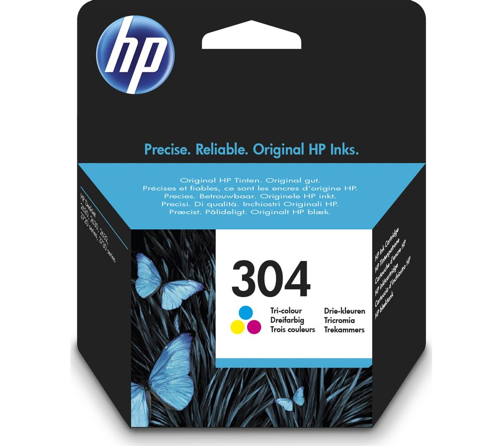 Hp 304 Tri Colour Ink Cartridge Deals Pc World