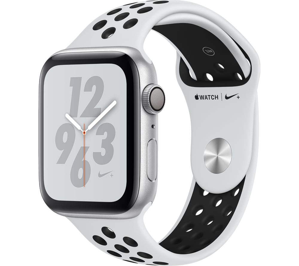 Buy Apple Watch Series 4 Nike Platinum Amp Black Sports