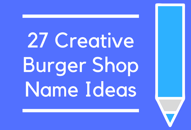 Fast Food Shop Names List