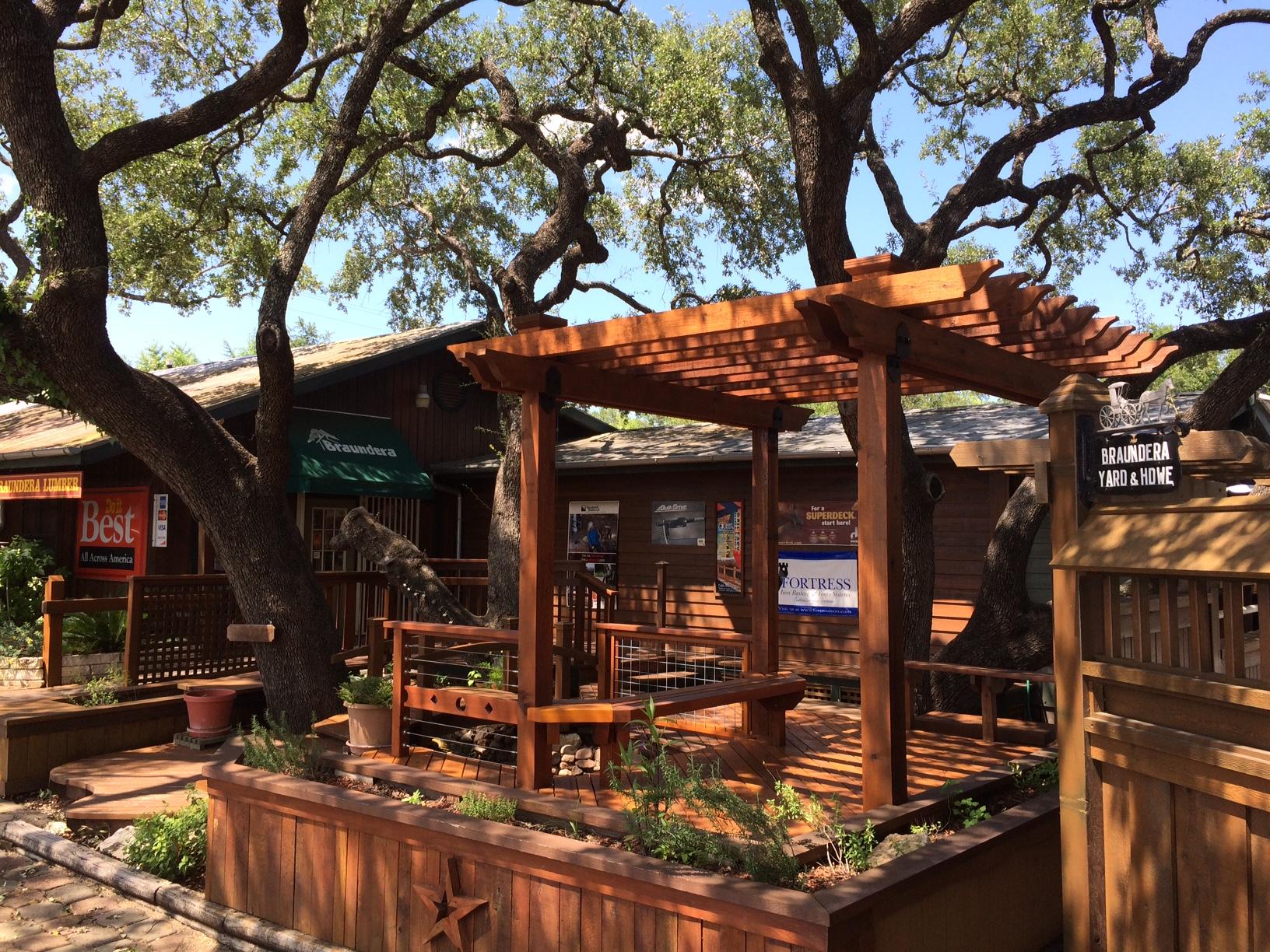 Lumber Yards San Antonio South Texas Braundera Yard