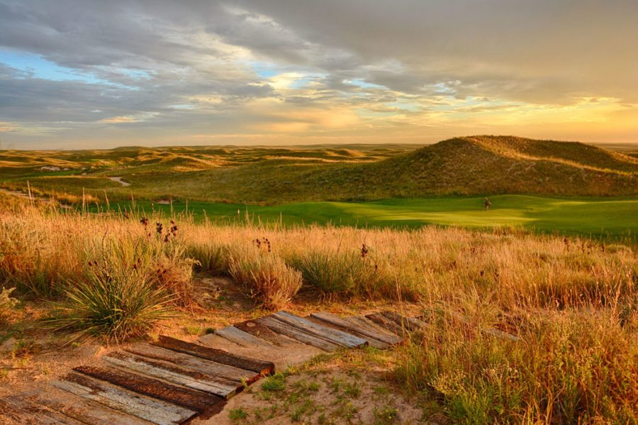 Top 100 Golf Courses  The Breaking Eighty World Top 100 Ballyneal Sunset