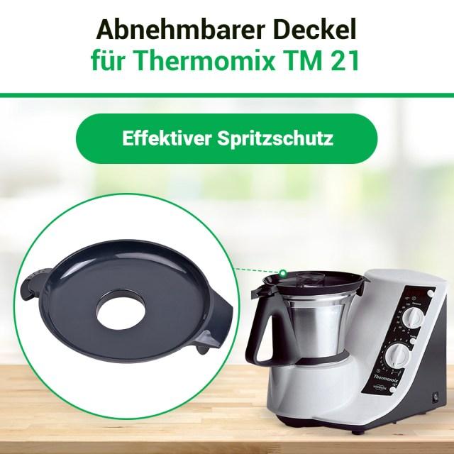 Thermomix Vorwerk Deckel für TM21 TM 21 Küchenmaschine ...