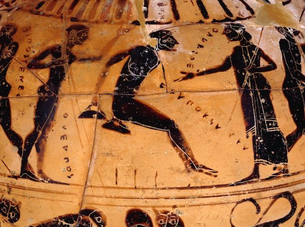 Ancient Greek Olympics Pentathlon