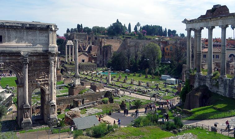 The Forum Romanum (Roman Forum) and Imperial Fora