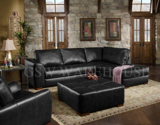 Stupendous Albany Furniture Sectional Albany 275 Capri Black 2Pc Ibusinesslaw Wood Chair Design Ideas Ibusinesslaworg