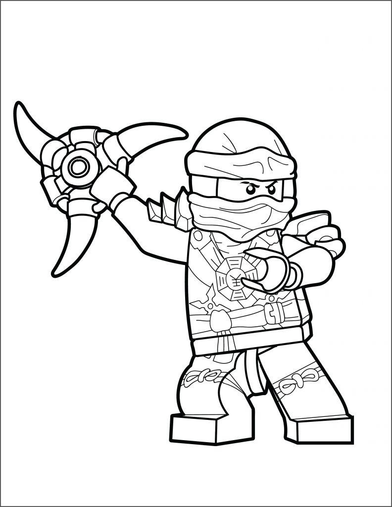 Lego ninjago coloring page jay brick show, ninjago coloring pages